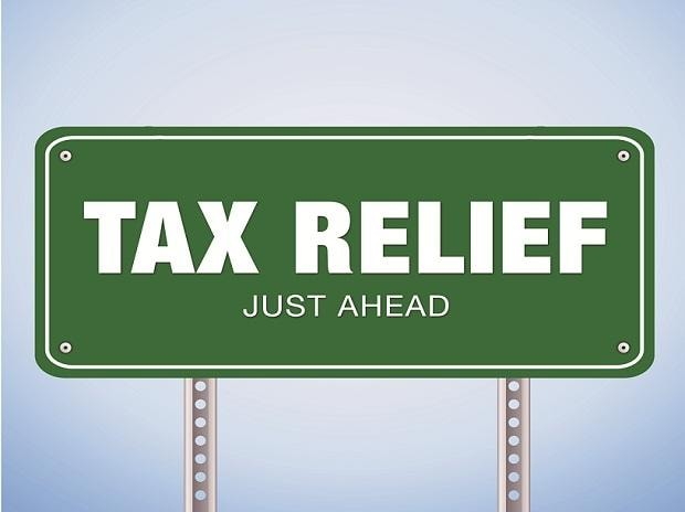 tax relief, taxes, GST