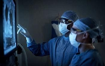 The equipment produces magnified, high-resolution, three-dimensional digital images of surgical sites