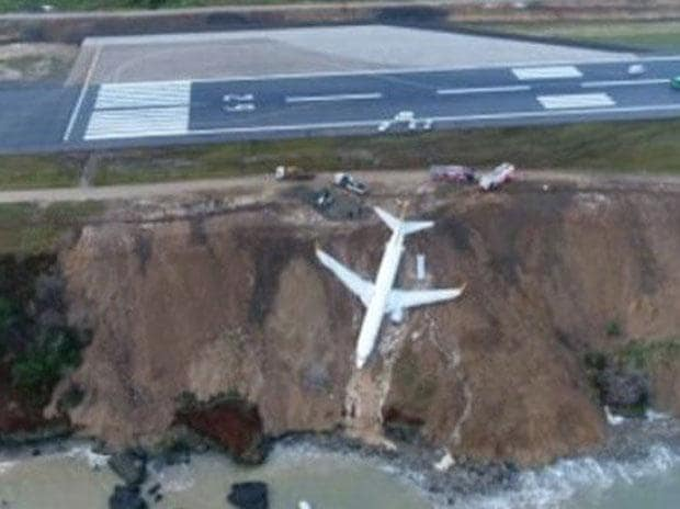 In pics: Turkey jet skids off runway; all 168 passengers miraculously safe