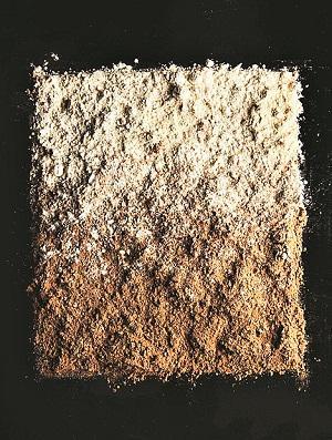 A gradation of grano arso