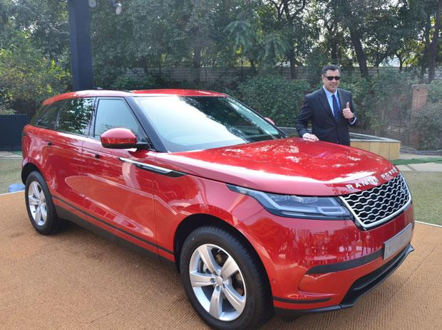 jlr launches range rover velar suv price starts at rs million business standard news. Black Bedroom Furniture Sets. Home Design Ideas