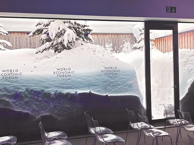 WEF Davos 2018: India toast of the snowy town, from billboards to desi food