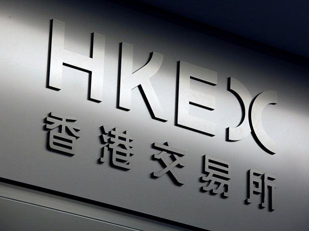 The name of Hong Kong Exchanges and Clearing Limited is displayed at the entrance in Hong Kong. Photo: Reuters