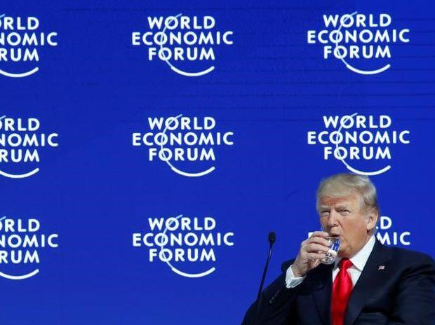 Donald Trump's speech in Davos