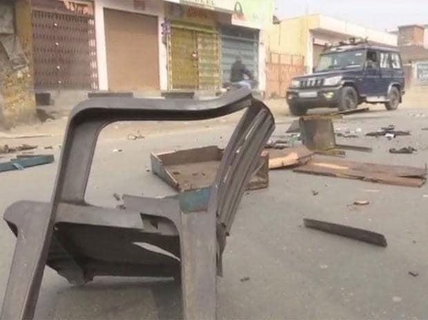 UP violence: Mob sets buses, shops on fire; 9 arrested, curfew in Kasganj