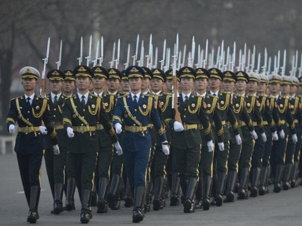 Beijing says 1.1 trillion yuan for defense 'proves we love peace'