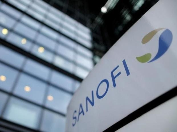 Logo of French drugmaker Sanofi | Photo: Reuters