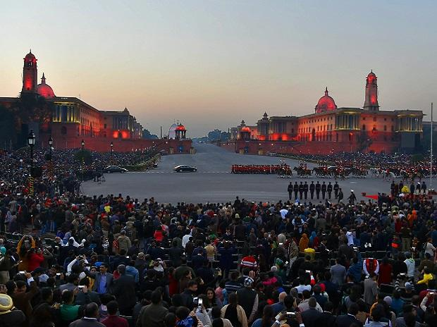 Beating the Retreat ceremony comes to an end