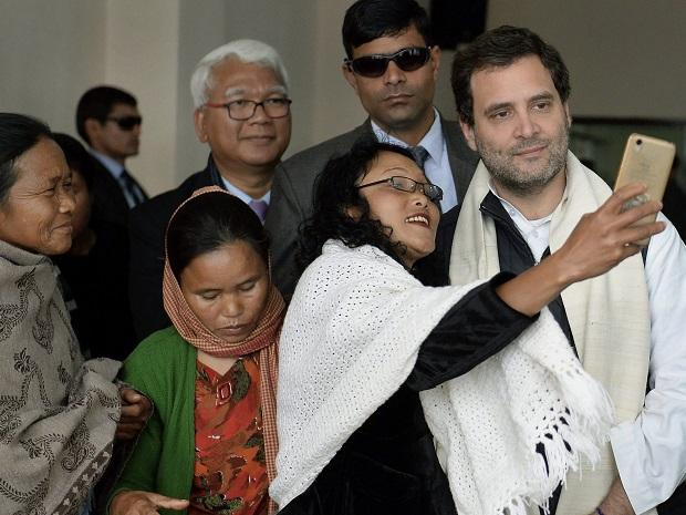 Did not feel like an election campaign in Meghalaya :Rahul