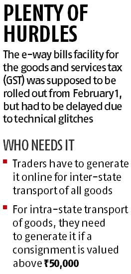 E-way bill mess: Goods stop on tracks, transporters wary of field officers