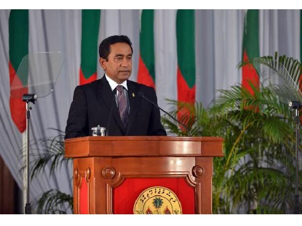 President Yameen. Photo: Twitter