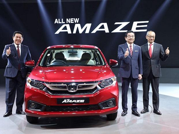 New Honda Amaze launched at Rs. 5.60 lakh