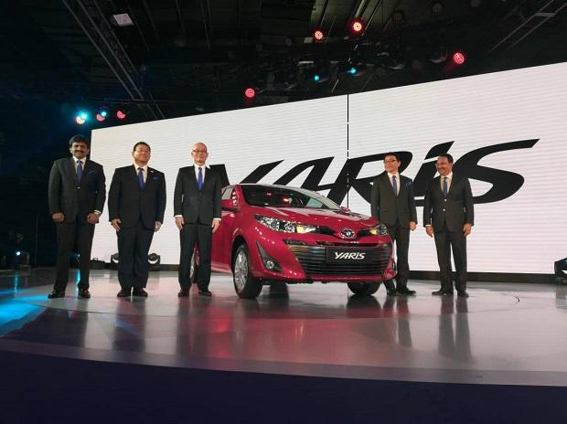 Toyota announces entry into B-High segment with Yaris