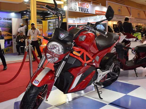 AutoExpo 2018: Okinawa Autotech showcases new e-motorcycle prototype