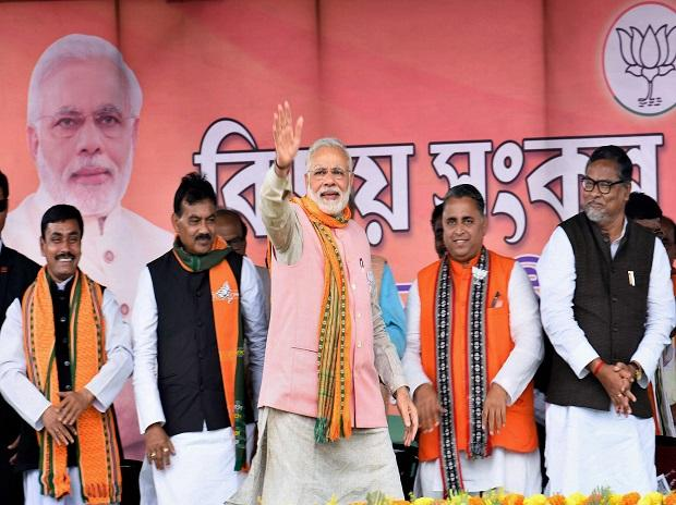PM Modi in Tripura