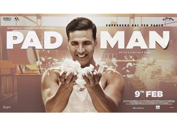 Akshay Kumar's Pad Man screen count stands at a whopping 3350!