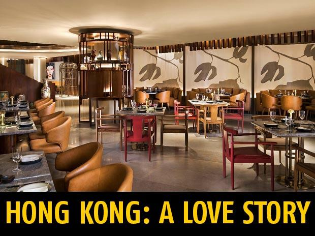 The décor weaves together a sailor's love story and Hong Kong's striking cultural landscape