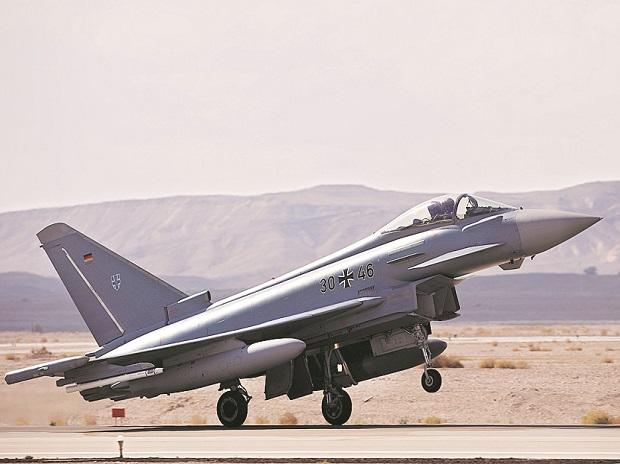 Eurofighter is made up of aerospace corporations from four European nations.  Photo: Reuters