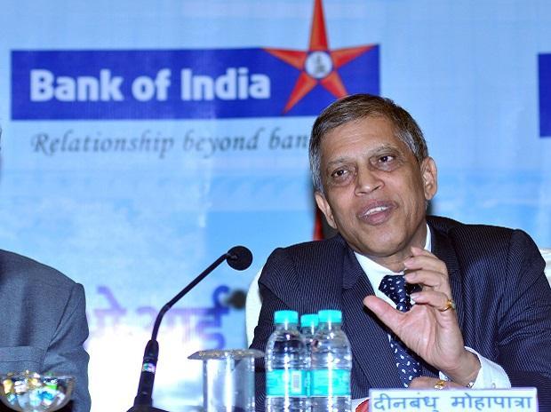 Dinabandhu Mohapatra, MD, CEO, bank of India. Photo: Kamlesh Pednekar