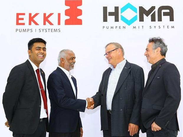 German Pump Major Homa forms JV with Ekki Pumps for waste-water management
