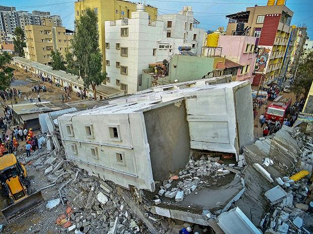 Bengaluru Building collapse, construction workers,National Disaster Response Force, NDRF,