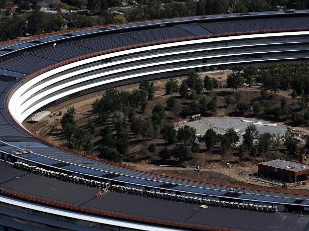 Apple campus, apple spaceship campus