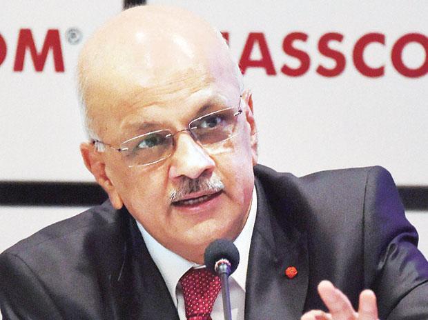 R Chandrashekhar, Nasscom president