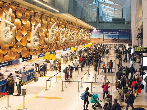Delhi airport on global top 5 and first among Asian on social media