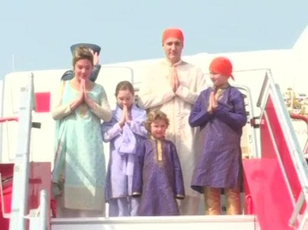 Justin Trudeau in Amritsar Golden Temple