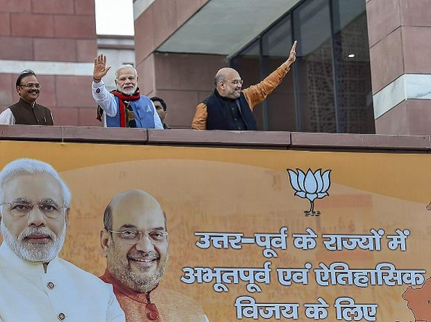 Narendra  MODI, tRIPURA ELECTION, tRIPURA ASSEMBLY ELECTION, pm NARENDRA MODI, AMIT SHAH, BJP, left bastion,defeat of left, northeast election, left, congress, karnataka,