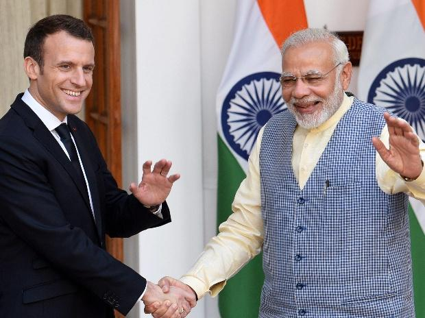 Macron Modi Sign Military Pact With An Eye On China Top 10 Developments Business Standard News