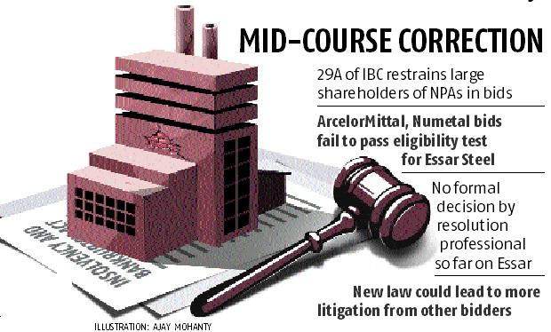 Ministerial committee may pave way for ArcelorMittal's Essar Steel bid