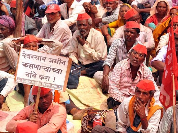 Maharashtra farmers protesting in Mumbai | Photo: Kamlesh D Pednekar