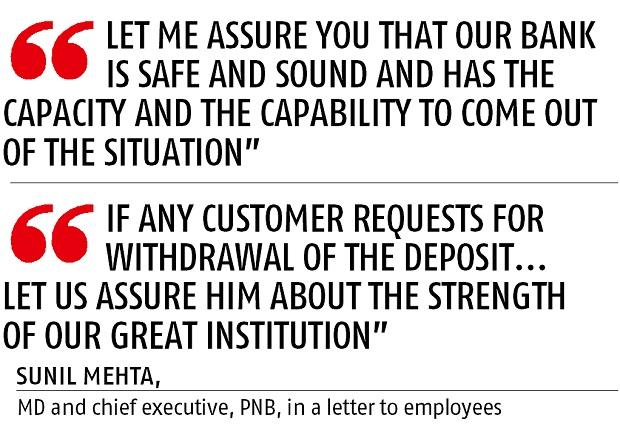 Quote by PNB chief Sunil Mehta