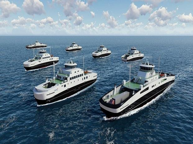 e ferry, electric ferry, electric ship