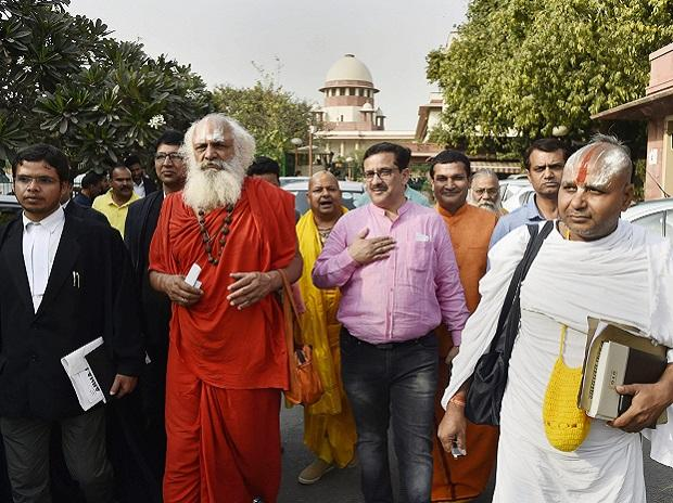 SC rejects all interim petitions seeking to intervene in Ayodhya dispute case