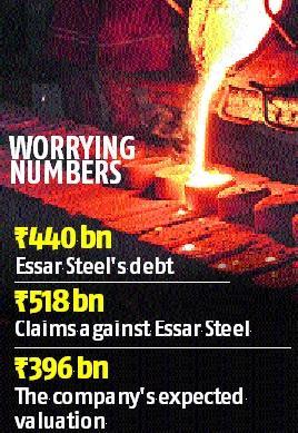 Essar Steel set for rebid as lenders reject Arcelor, Numetal offers