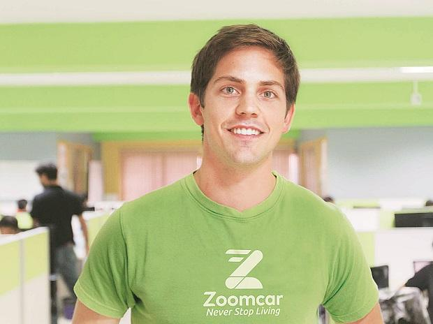Greg moran, Chief executive officer and co-founder Zoomcar