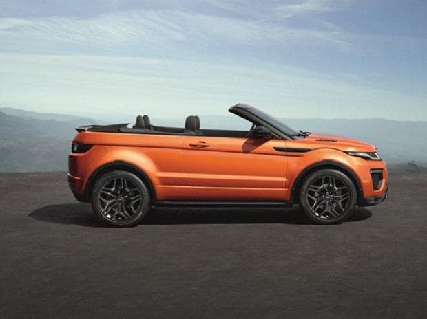Land Rover launches country's first convertible SUV under the Evoque brand