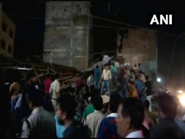 indore, indore building collapse, building