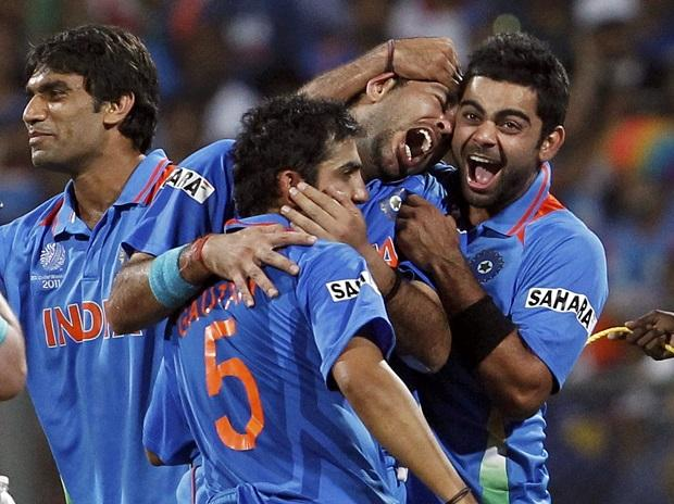 Yuvraj, Kohli and Gambhir played a significant role in India's road of World Cup