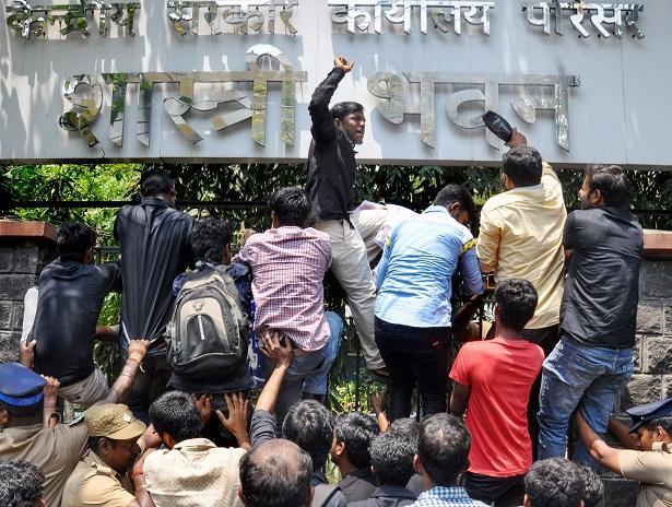 DMK protests in Tamil Nadu