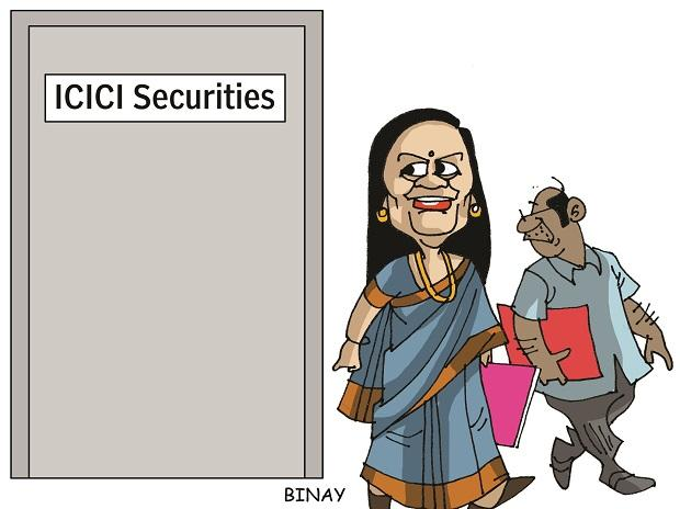 Chanda Kochhar 'missing in action' at listing ceremony of ICICI Securities