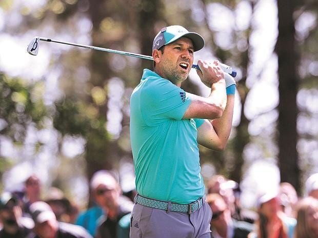 Sergio Garcia of Spain at the 2018 Masters golf tournament at the Augusta National Golf Club in Augusta, Georgia, US, on Thursday. Photo: Reuters