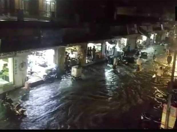 Heavy rainfall, Rajastha, Delhi