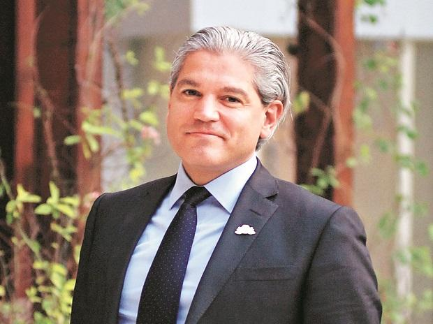 Aldo Flores-Quiroga, deputy minister for hydrocarbons, Mexico.	Photo: Dalip Kumar