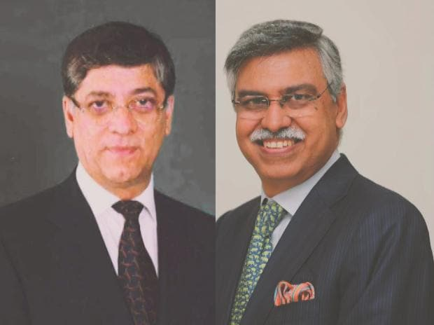 From left: Dabur India non-executive chairperson Anand Burman and Sunil Kant Munjal of Hero Enterprise
