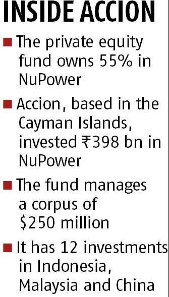 Accion Diversified Fund awaits returns from its NuPower investment