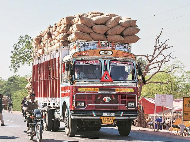Truckers are neutralising this fall in dispatches through higher loading of agricultural produce, with early harvesting in this rabi season. Agricultural goods are exempt from GST and do not require generation of e-way bills