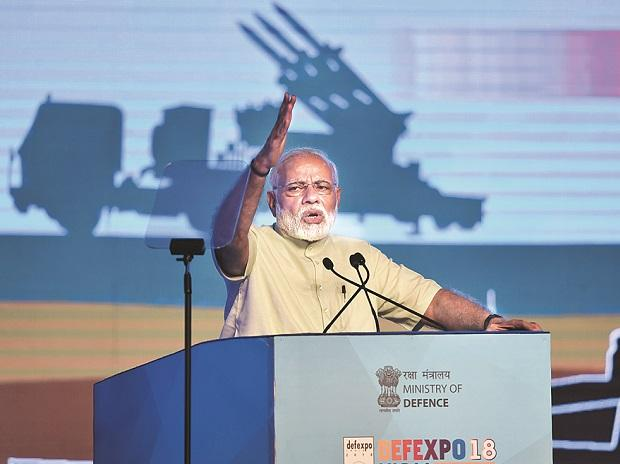 TALL ORDER  Prime Minister Narendra Modi's assurance to help private companies enter major sectors like manufacture of aircraft and submarines  in collaboration with chosen foreign partners lacks credibility